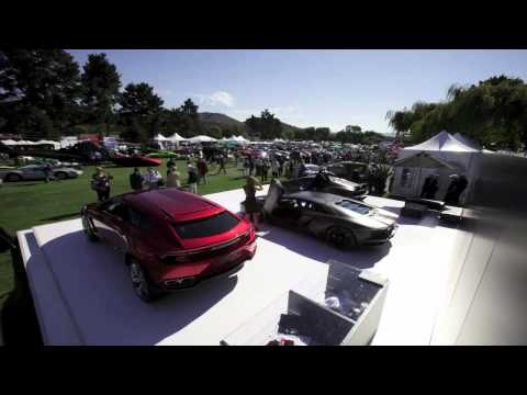 Lamborghini Announces 50th Anniversary Plans at The Quail in Monterey (Time-Lapse)