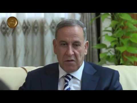خالد العبيدي يستقبل السفير الأمريكي في العراق