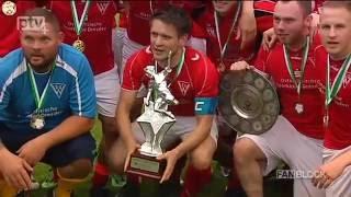 Die SG Weixdorf war in dieser Saison das Maß aller Dinge im Dresdner Stadtfußball. Nach dem Gewinn der Meisterschaft sicherten sich die Randdresdner auch den Pokal. Im Finale triumphierte die SG Weixdorf hauchdünn gegen den FV Dresden Süd-West.