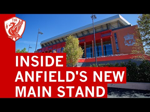 Liverpool FC's New Main Stand At Anfield