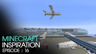 Minecraft :: Airport :: Inspiration w/ Keralis