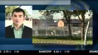 Refugees Burn Detention Centre In Australia (ABC News)