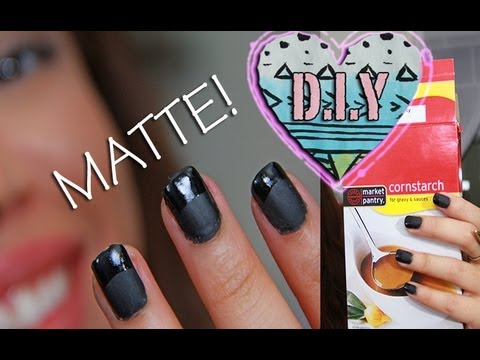 D.I.Y homemade MATTE NAIL Polish%21%21%21 %7C AndreasChoice 