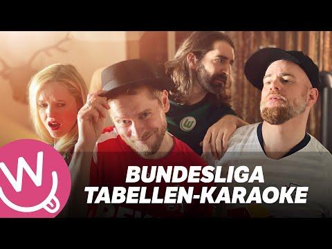 Das Bundesliga-Tabellen Karaoke