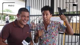 Bastidores da visita do programa Conexão Bahia da TV Bahia