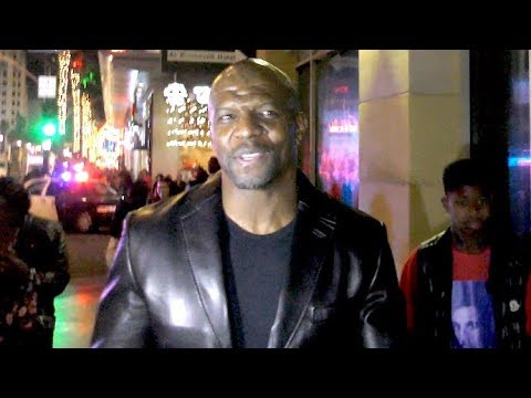 Terry Crews, Djimon Hounsou And More Attend The Aquaman Premiere In Hollywood
