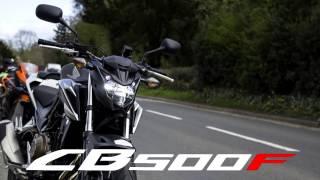 9. 2017 Honda CB500F Review | UK | Urban and Rural Test