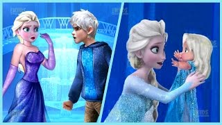 Disney Princess Elsa Love Problems and Little Baby Puzzle Game for Kids