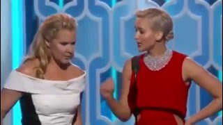 Video Jennifer Lawrence and Amy Schumer Hilarious at the Golden Globes 2016 MP3, 3GP, MP4, WEBM, AVI, FLV April 2018