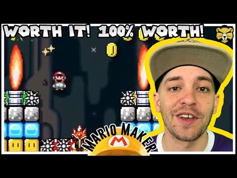 GrandPooBear's Awesome Life Advice! Mario Maker (видео)