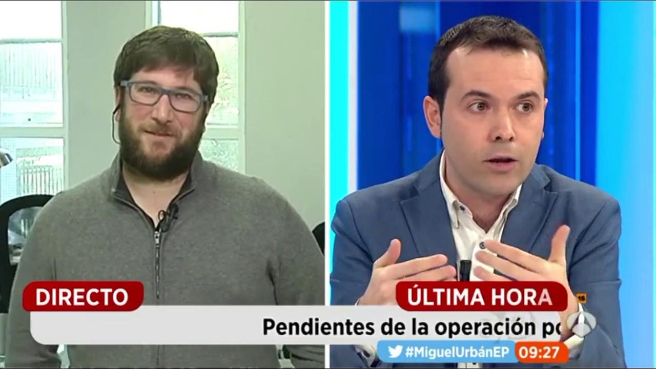Rallo contra Urbán sobre Podemos - 28/12/2016