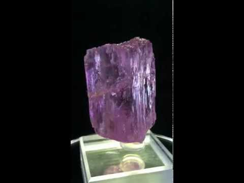 Spodumene Var. Kunzite -Oceanview Mine- Pala, California USA 47.3 Grams