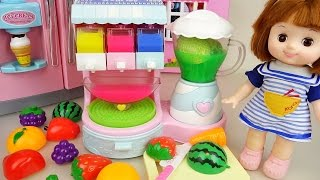Video Fruit Ice cream shaker and Baby doll refrigerator toys play MP3, 3GP, MP4, WEBM, AVI, FLV Juli 2018
