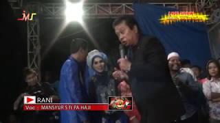 Mansyur S - RANI (Live Dangdut) Cirebon