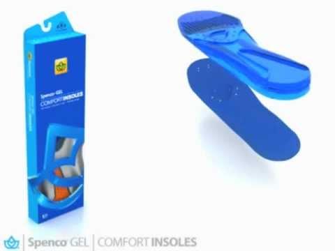 Spenco Gel Comfort Shoe Insoles