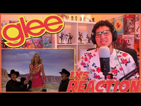 FINN LIES TO RACHEL!   Glee 1x5 REACTION   Season 1 Episode 5