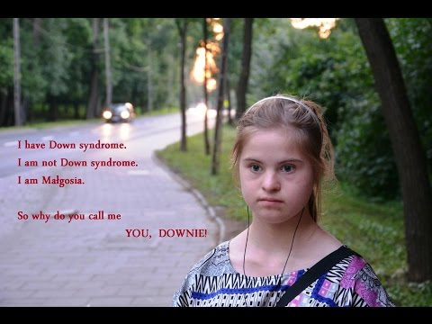 Watch video Down Syndrome: Krótki film o Malgosi