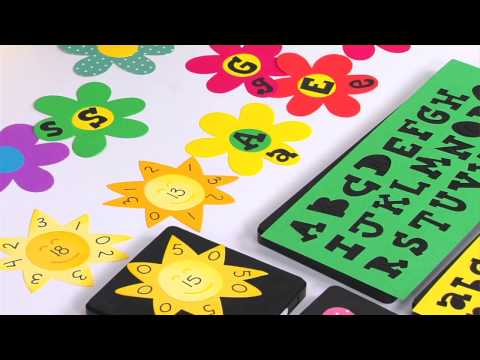 Ellison Education Lesson Plan #12128: Alphabet Flowers & Sunny Flashcards