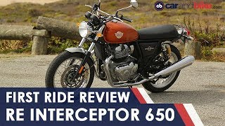 Royal Enfield Interceptor 650 First Ride Review | NDTV carandbike