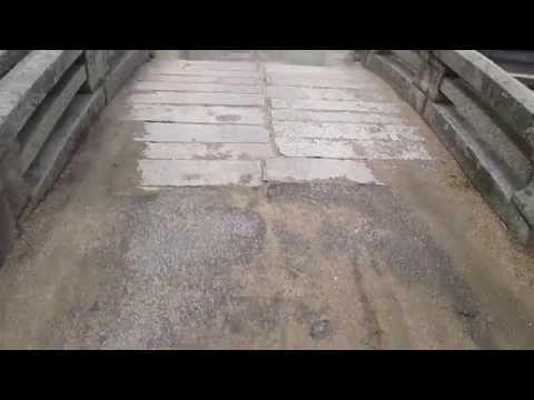 岡山・早島【早島小学校西側の石橋】