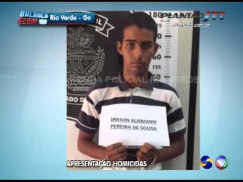 APRESENTAÇÃO HOMICIDAS RIO VERDE GO