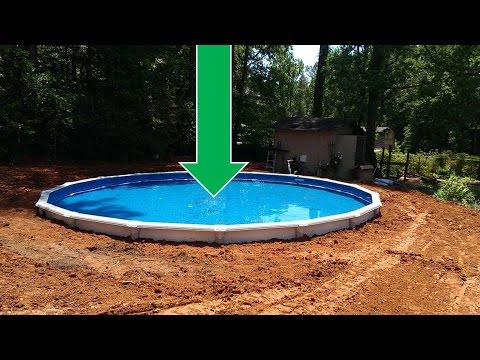 Dropping an Above Ground Pool in the Ground (the details)