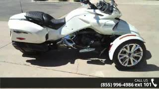 9. 2016 Can-Am Spyder F3 Limited Special Series 6-Speed Semi...