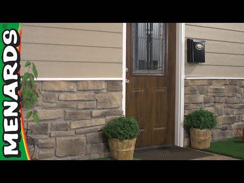 How To Install Stone Veneer Siding - Menards