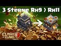 [285] 3 Sterne Rh9 auf Rh11 💯| 2,4 Millionen Fight Rh9,10 1,8 Millionen | Clash of Clans COC Deutsch