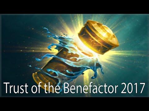 Trust of the Benefactor 2017 Dota 2