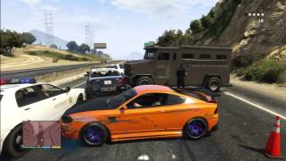 Nonton GTA 5 LIKE FAST AND FURIOUS POLICE SCENE Film Subtitle Indonesia Streaming Movie Download