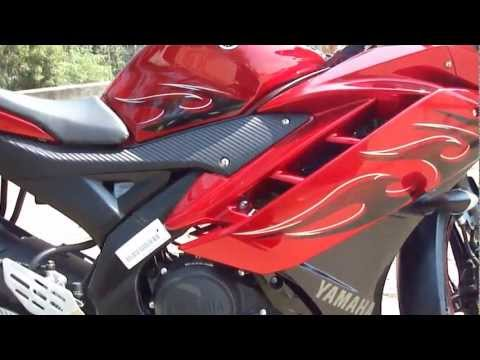 Yamaha R15 V2.0 limited edition Fiery red.mp4