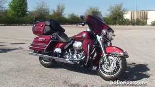 9. Used 2009 Harley Davidson Ultra Classic Electra Glide Motorcycles for sale - West Palm Beach, FL