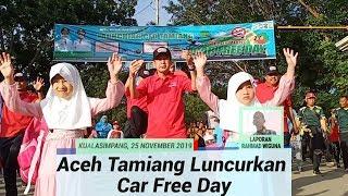 Aceh Tamiang Luncurkan Car Free Day. Ajang Olahraga, Sosialisasi Hingga Perputaran Ekonomi
