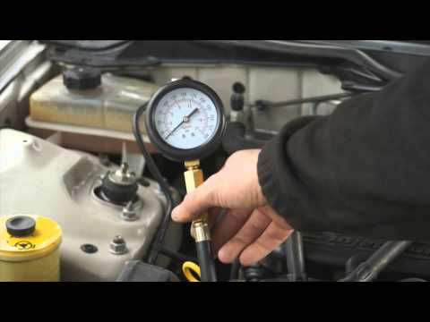 Kompresiometer pre benzínové motory, 0-20bar MG50184