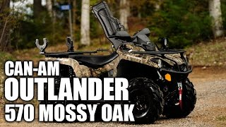 1. TEST RIDE: Can-Am Outlander 570 Mossy Oak Hunting Edition