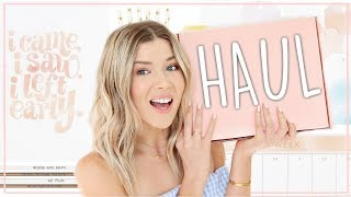 STATIONARY & LIFESTYLE HAUL ♡ my *aesthetic af* subscription box   Meghan Rienks by Meghan Rienks
