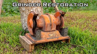 Video Old Bench Grinder Restoration [kotobuki grinder orange] MP3, 3GP, MP4, WEBM, AVI, FLV April 2019