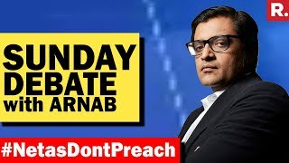 Video India Forced Netas To Speak Up #NetasDontPreach | The Sunday Debate With Arnab Goswami MP3, 3GP, MP4, WEBM, AVI, FLV April 2018