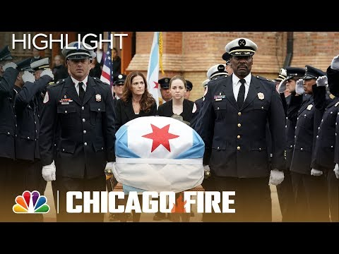 Benny Severide's Funeral Service - Chicago Fire (Episode Highlight)