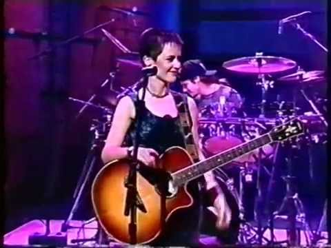 The Cranberries' American television debut, live on Late Night with Conan O'Brien 10/29/93
