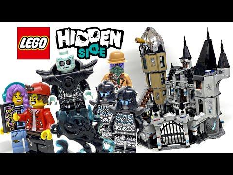 LEGO Hidden Side Mystery Castle review! 2020 set 70437!