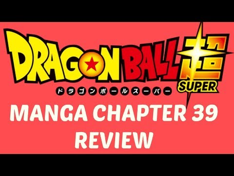 Dragon Ball Super Manga Chapter 39
