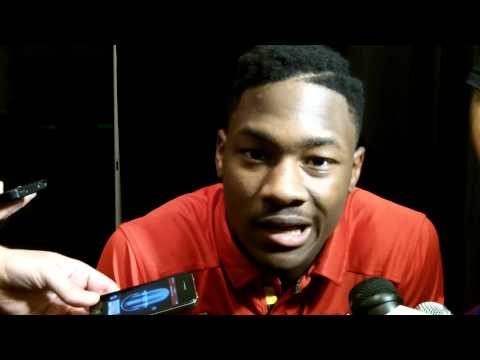Stefon Diggs Interview 8/5/2013 video.