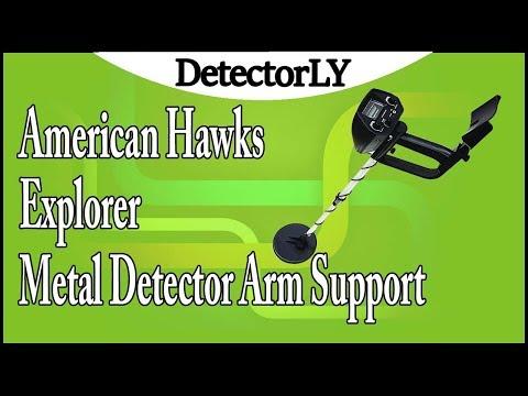 American Hawks Explorer Metal Detector Arm Support Review