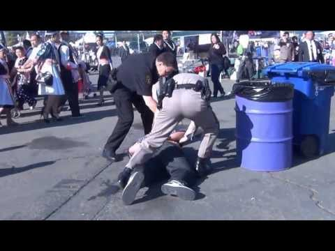 Sacramento Hmong New Year Fight 2013-2014