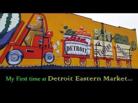 Lively Saturday Detroit Eastern Market