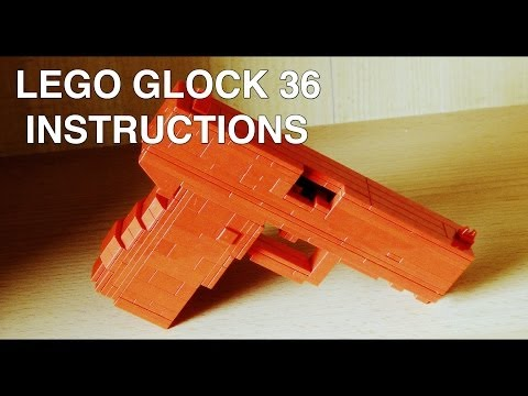 Lego Glock 36 Instructions / Tutorial / Howto