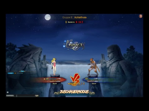 Naruto Online Space Time Germany Day 1