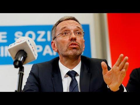Österreich: Ex-FPÖ-Innenminister Kickl attackiert Bundespräsident Van der Bellen als ÖVP-»Steigbügelhalter«